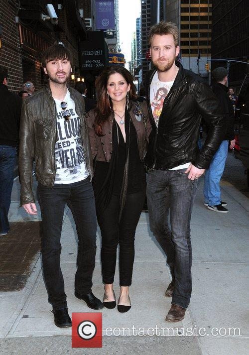 Lady Antebellum and David Letterman 1