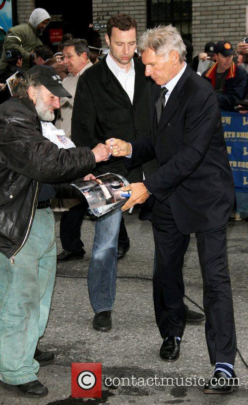 Harrison Ford and Ed Sullivan