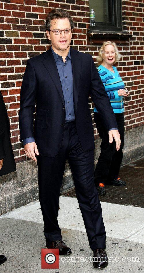 Matt Damon and Ed Sullivan 11