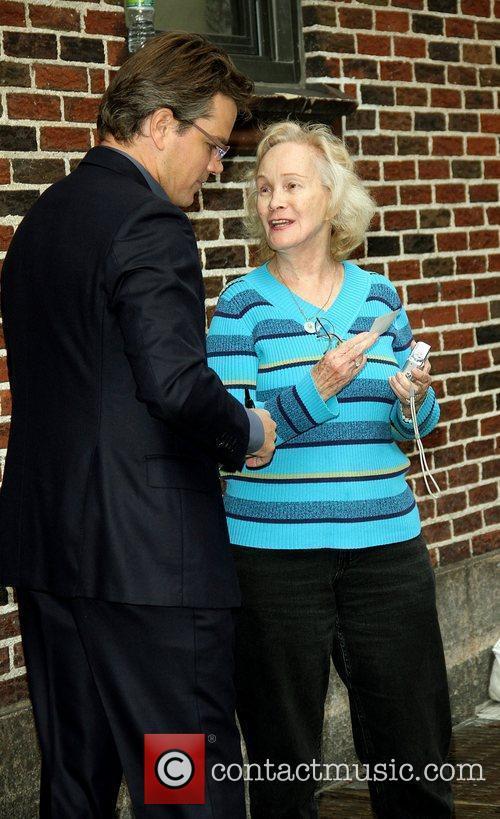 Matt Damon and Ed Sullivan 9