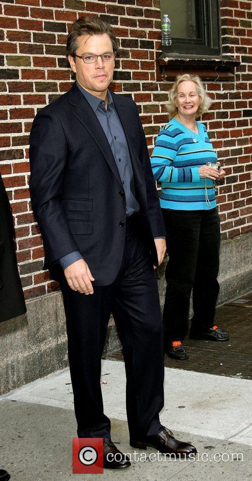 Matt Damon, Ed Sullivan, The Late Show With David Letterman