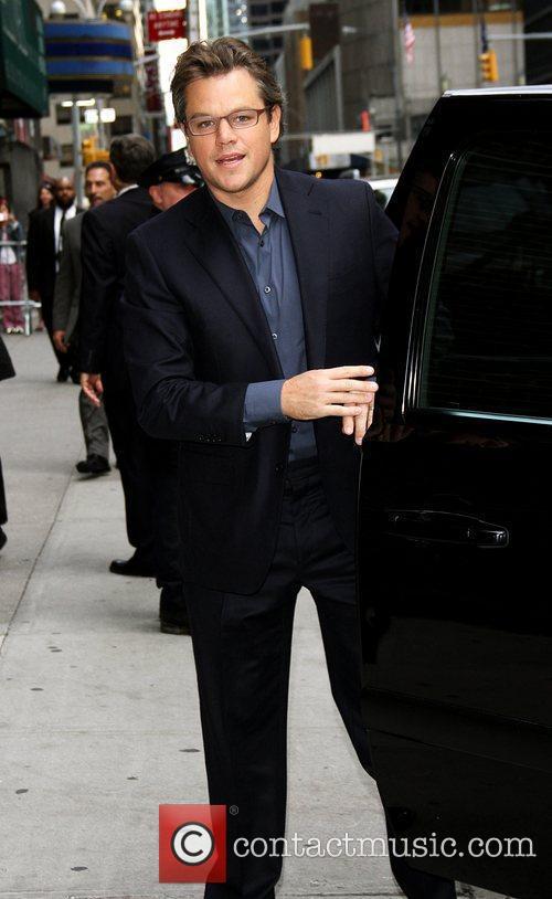 Matt Damon and Ed Sullivan 5