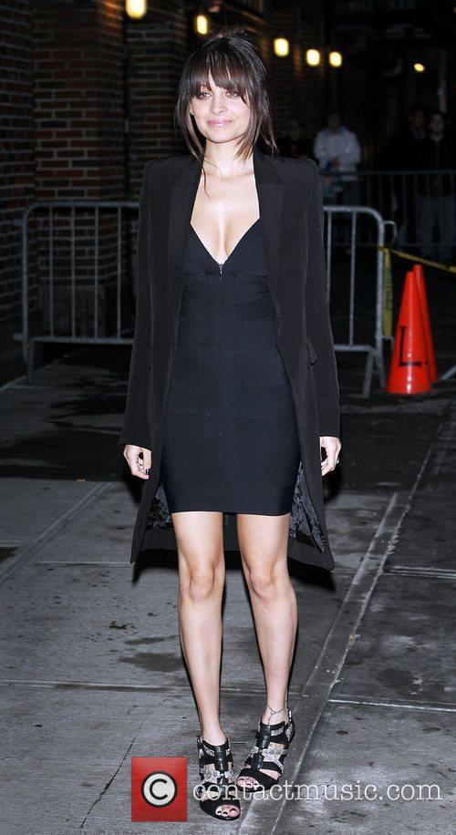 Nicole Richie and David Letterman 10