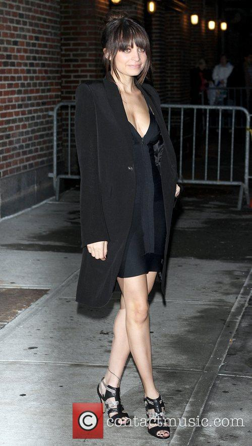 Nicole Richie and David Letterman 3