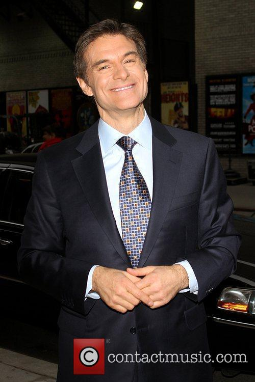 Dr. Mehmet Oz and David Letterman 4
