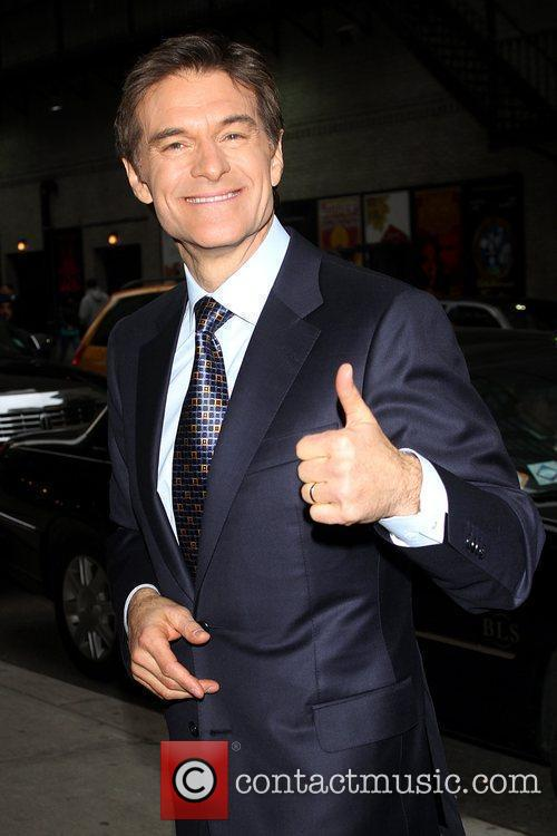 Dr. Mehmet Oz and David Letterman 1