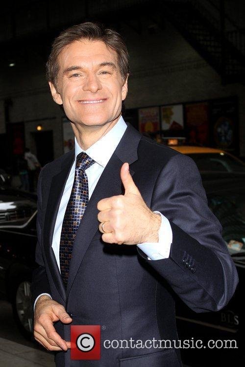 Dr. Mehmet Oz and David Letterman 2