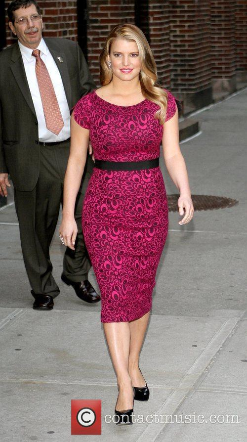 Jessica Simpson and David Letterman 10