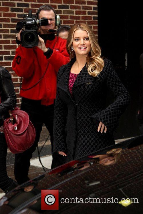 Jessica Simpson and David Letterman 12