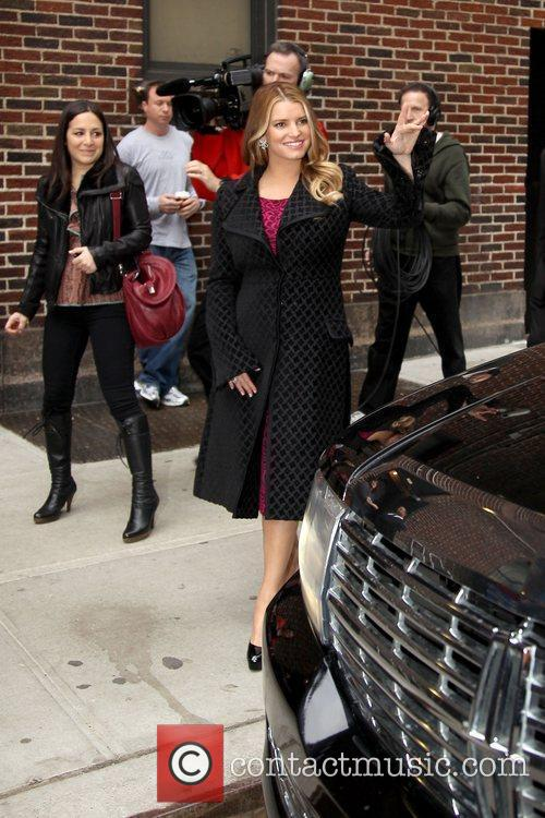 Jessica Simpson and David Letterman 16