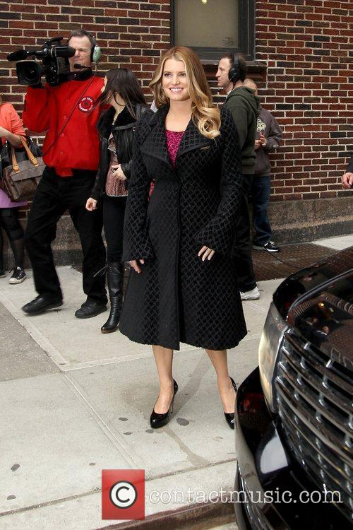 Jessica Simpson and David Letterman 19