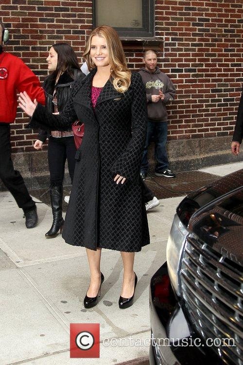 Jessica Simpson and David Letterman 18