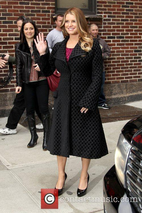 Jessica Simpson and David Letterman 17