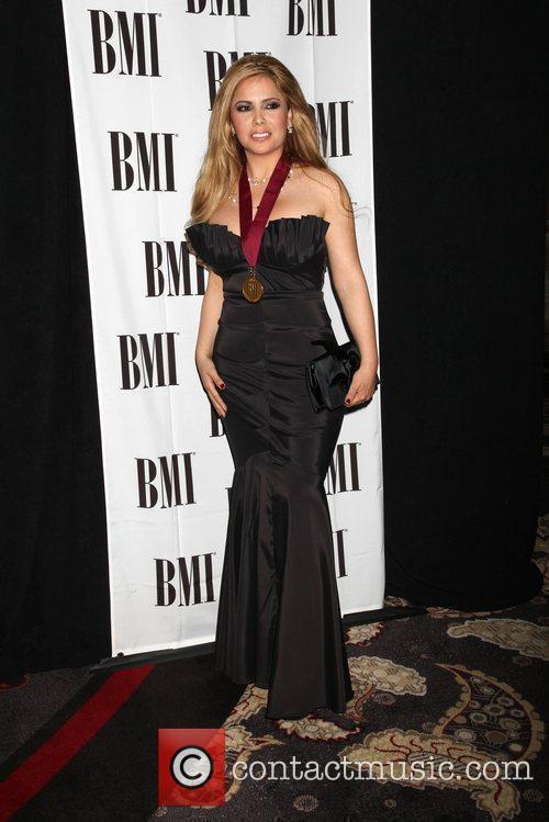 Erika Viorio 17th Annual BMI Latin Awards 2010...