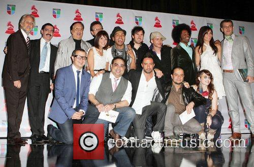 Presenters and hosts 11th Annual Latin Grammy Awards...