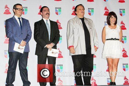 Aleks Syntek, Mario Quintero-Lara, Arturo Sandoval and Guest...