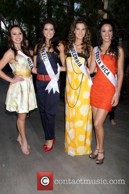 Claudia Arce Lemaitre (Miss Bolivia 2010), Debora Lyra...