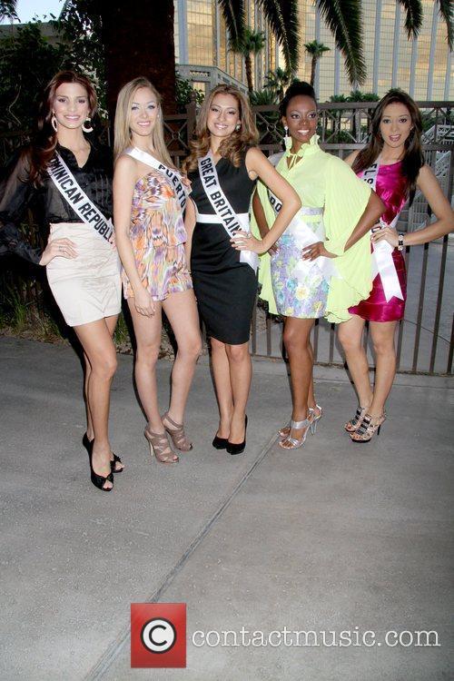 Eva Arias(Miss Dominican Republic 2010), Mariana Paola Vicente(Miss...