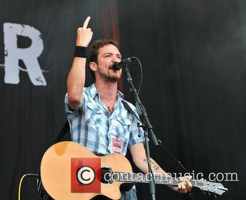 Frank Turner performs on Day 3 of Latitude...