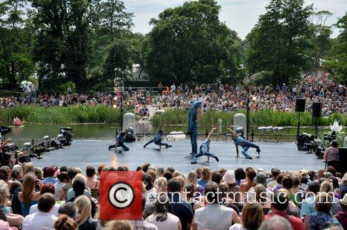 Saddlers Wells performing Swan Lake on Day 3...