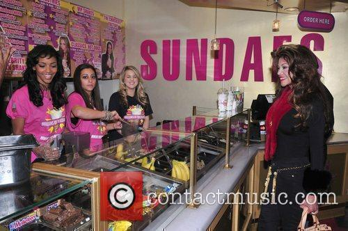 LaToya Jackson stops at Millions of Milkshakes in...