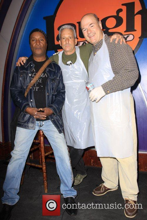 Paul Mooney, Bobby Slayton and Larry Miller 8