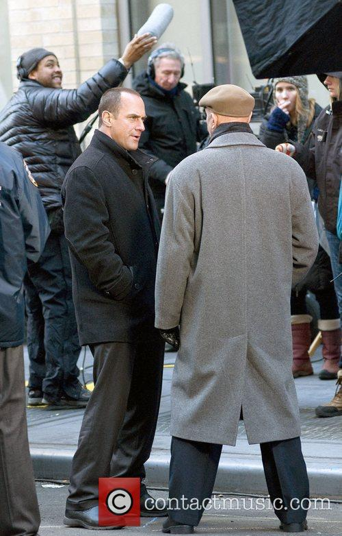 Christopher Meloni, Dann Florek and Law And Order 4