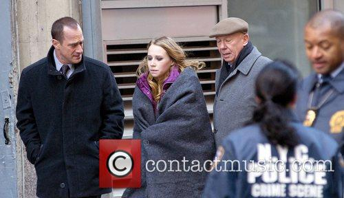 Christopher Meloni, Dann Florek and Law And Order 5