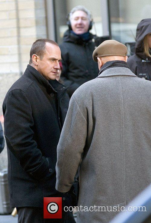 Christopher Meloni, Dann Florek and Law And Order 3