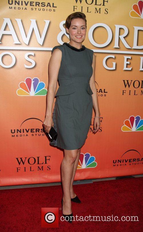 Megan Boone 'Law & Order: Los Angeles' Premiere...