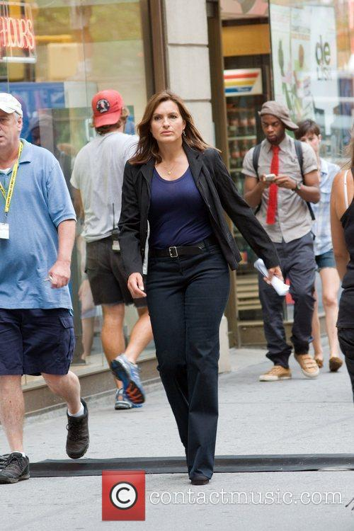 On the set of 'Law and Order: Special...