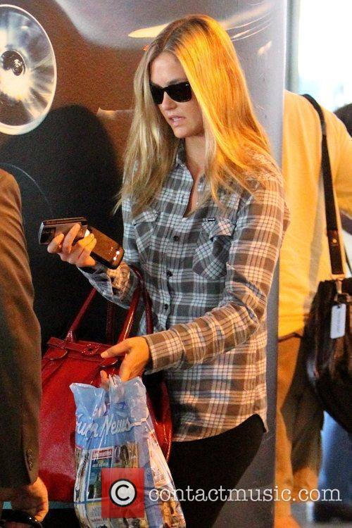Arriving at LAX airport
