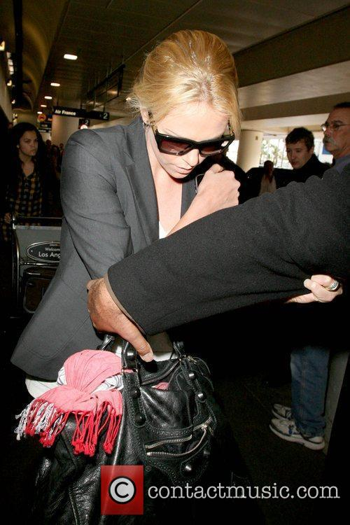 Charlize Theron star of 'The Road' arriving at...