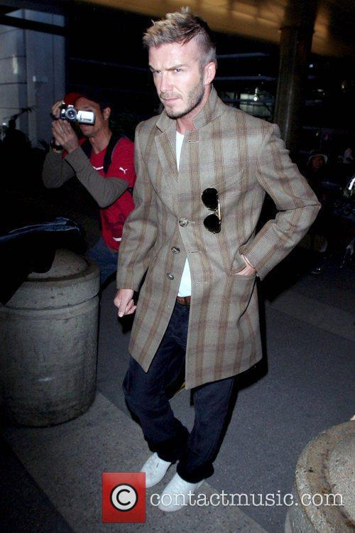 Arriving at LAX airport while wearing a plaid...