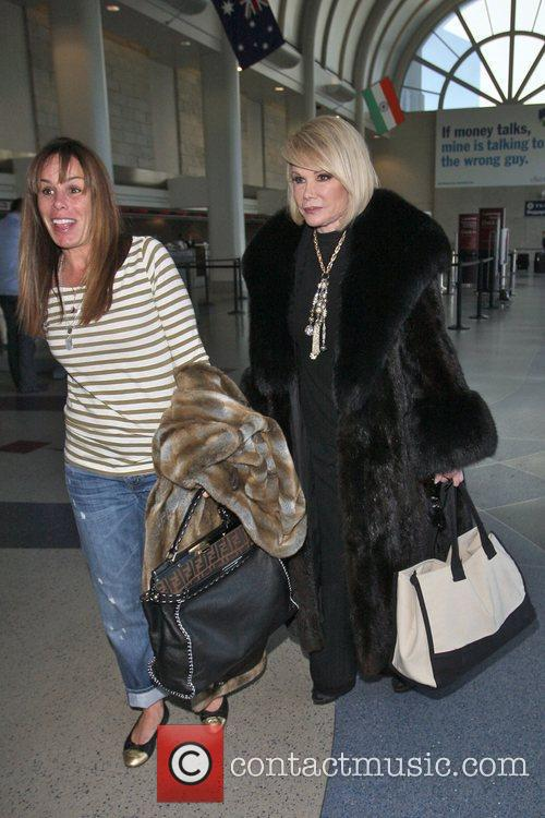 Melissa Rivers and Joan Rivers 1