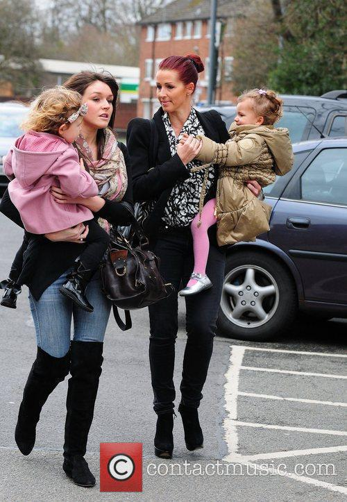 Leanne Wassell, wife of Manchester United star Wes...