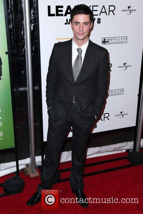 Matthew Goode The world premiere of 'Leap Year'...