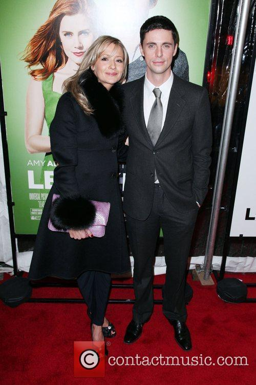 Sophie Dymoke and Matthew Goode The world premiere...