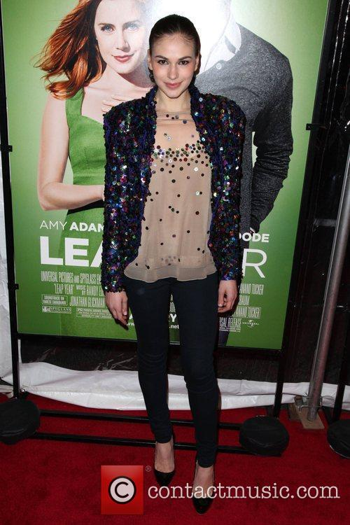The world premiere of 'Leap Year' held at...