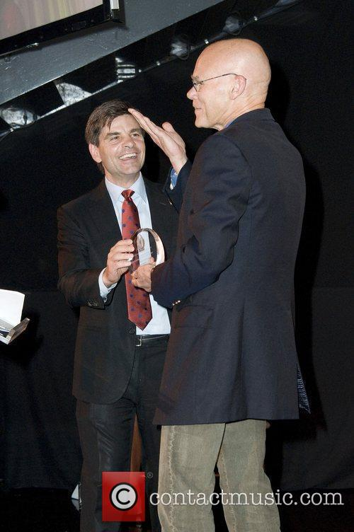 George Stephanopoulos and James Carville