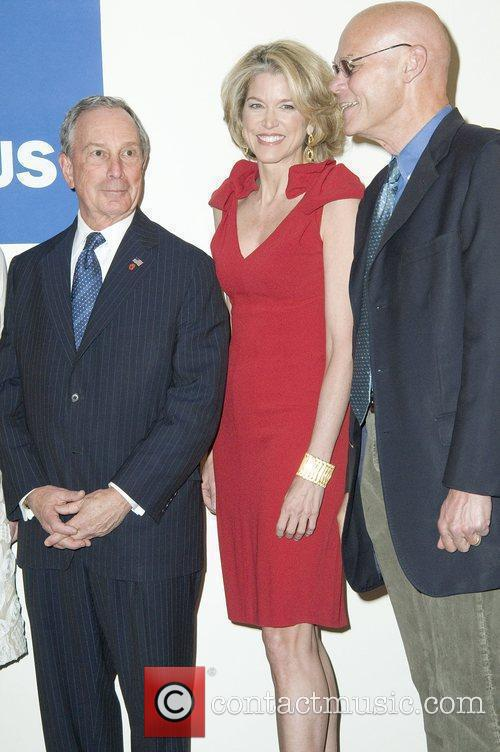Mayor Michael Bloomberg, Paula Zahn and James Carville 3