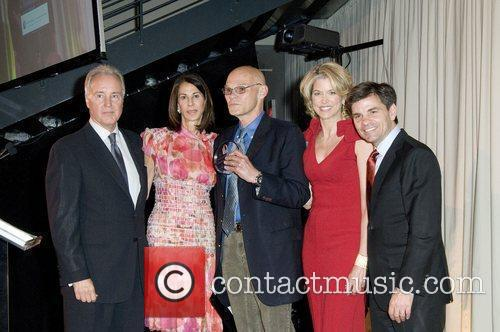 Nancy Poses, James Carville, Paula Zahn and George...