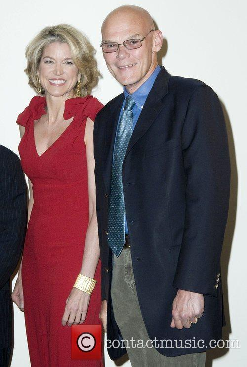 Paula Zahn and James Carville National Center for...