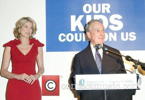 Paula Zahn and Mayor Michael Bloomberg National Center...