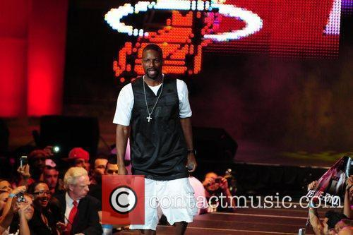 The Miami Heat Summer 2010 player welcome event...