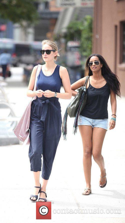 Is seen out and about in NYC.