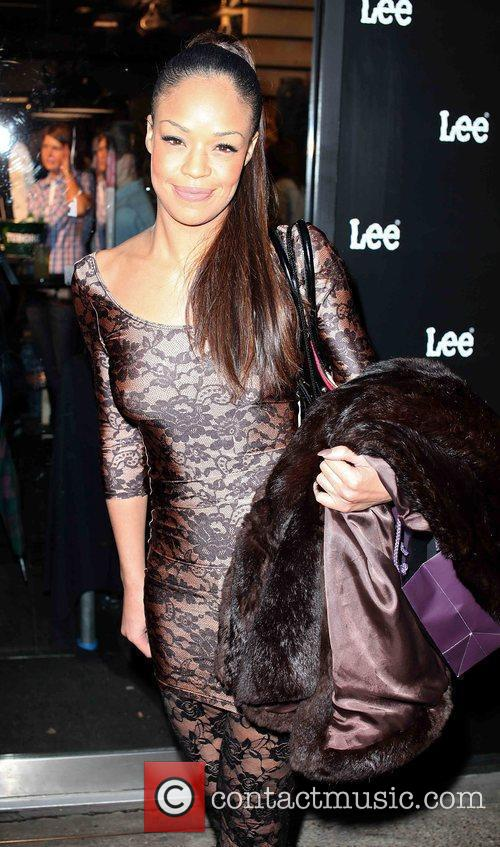 Sarah Jane Crawford The Lee Re-Launch Party in...