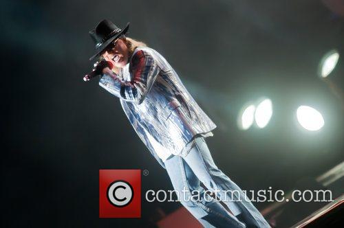 Axl Rose and Guns N Roses 4