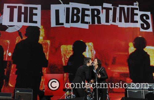 Pete Doherty, Carl Barat and The Libertines 5