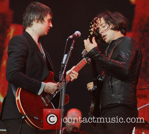 Pete Doherty, Carl Barat and The Libertines 1